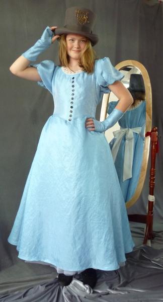 Alice in Wonderland Blue Dress - Cloak & Dagger