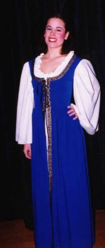 Gown for Juliet in Stage Production