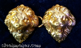 Lion Heads<br>Small Bronze