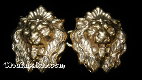Lion Heads Bronze