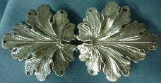 Geranium Leaves<br>Medium Silvertone