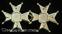 Maltese Cross<br>Large Goldtone
