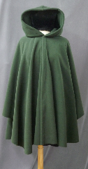 Cloak:2376, Cloak Style:Cape / Ruana, Cloak Color:Deep Olive Green, Fiber / Weave:WindPro Fleece, Cloak Clasp:Celtic Spirals, Hood Lining:Self-lining, Back Length:36&quot;, Neck Length:21&quot;, Seasons:Winter, Fall, Spring, Note:Luxurious, functional, and economically friendly!<br>This jacket- length windpro cloak blocks more wind than a basic fleece<br>and has a water-repelling outer finish! It&#039;s perfect<br>for early winters and cold, rainy, windy climates.<br>Machine washable cold gentle, tumble dry low.<br>Throw it on and go!.