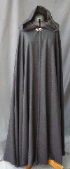 "Cloak:2528, Cloak Style:Full Circle Cloak, Cloak Color:Heathered Grey, Lavendar, Plum Chevrons, Fiber / Weave:Wool Blend, Cloak Clasp:Vale, Hood Lining:Grey Cotton Velvet, Back Length:56"", Neck Length:23"", Seasons:Fall, Spring."