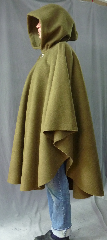 Cloak:2535, Cloak Style:Cape / Ruana extra long over the shoulder, Cloak Color:Loden Green, Fiber / Weave:WindPro Polar Fleece, Cloak Clasp:Vale, Hood Lining:Self-lining, Back Length:43&quot;, Neck Length:22&quot;, Seasons:Fall, Spring, Summer, Note:A cross between a cape and a cloak, a ruana<br>is a great way to keep warm while<br>frequent, unhindered use of your arms <br>is needed. Ruanas make great driving cloaks!<br>This windpro cloak<br>blocks more wind than<br>a basic fleece and has a durable water resistant outer finish!<br>It&#039;s perfect for cool,<br>rainy, windy climates.<br>This Ruana is extra long (30&quot;)<br>over the shoulders for even more coverage.<br>Machine washable cold gentle, tumble dry low.<br>Throw it on and go!.