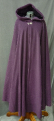 Cloak:2568, Cloak Style:Full Circle Cloak, Cloak Color:Dusty Plum Purple, Fiber / Weave:Hi Loft Fleece (long silky fur inside) with durable water resistant finish, Cloak Clasp:Vale, Hood Lining:Self-lining - Deep Plum Purple, Back Length:50&quot;, Neck Length:23&quot;, Seasons:Southern Winter, Fall, Spring, Note:This Hi-Loft fleece cloak blocks more wind than<br>a basic fleece and has a durable water resistant outer finish!<br>It&#039;s perfect for cool,<br>rainy, windy climates.<br>Machine washable cold gentle, tumble dry low.<br>Throw it on and go!.