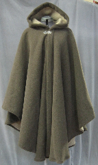 Cloak:2625, Cloak Style:Cape / Ruana extra long (32&quot;) over the shoulder, Cloak Color:Mocha Brown, Fiber / Weave:300 Wt Fleece, Cloak Clasp:Vale, Hood Lining:Self-lining (tan fuzzy fleece), Back Length:43&quot;, Neck Length:23&quot;, Seasons:Winter, Fall, Spring, Note:A cross between a cape and a cloak, a ruana<br>is a great way to keep warm while<br>frequent, unhindered use of your arms <br>is needed. Ruanas make great driving cloaks!<br>This Ruana is extra long (32&quot;)<br>over the shoulders for even more coverage.<br>Machine washable cold gentle, tumble dry low.<br>Throw it on and go!.