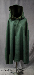 Cloak:2767, Cloak Style:Shaped Shoulder Cloak, Cloak Color:Forest Green Heathered with Grey, Fiber / Weave:Wool Suiting, Cloak Clasp:Alpine Knot - Goldtone, Hood Lining:Unlined, Back Length:36&quot;, Neck Length:17&quot;, Seasons:Fall, Spring, Note:Perfect for cool evenings .<br>Finished off with a with a classic<br>Alpine hook-and-eye clasp.<br>Machine Washable..