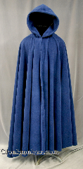 Cloak:2774, Cloak Style:Full Circle Cloak, Cloak Color:Blue, Fiber / Weave:Windblock Polar Fleece, Cloak Clasp:Triple Medallion, Hood Lining:Self-lining, Back Length:51&quot;, Neck Length:23&quot;, Seasons:Winter, Fall, Spring, Note:This blue Windblock polar fleece<br> full circle cloak will keep you<br>warm all winter  by providing 100% wind resistance.<br>It&#039;s a double layer fabric with a windproof membrane laminated between<br>the  water resistant outer layer and the absorbent inner layer.<br>Machine wash cold gentle, tumble dry low.<br>It&#039;s finished with a triple medallion clasp in pewter.<br>Throw it on and go!.