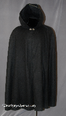 Cloak:2786, Cloak Style:Shaped Shoulder Cloak - Short (Youth), Cloak Color:Black, Fiber / Weave:100% Polyester Fleece, Cloak Clasp:Vale, Hood Lining:Unlined, Back Length:41&quot;, Neck Length:22&quot;, Seasons:Spring, Fall, Note:Perfect Starter cloak for<br> older child or young adult.<br>With a shaped shoulder for a more tailored look.<br>Good for cool evenings for a fun<br>addition to any wardrobe.<br>Machine washable cold tumble dry low..