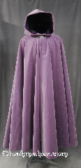 Cloak:2812, Cloak Style:Full Circle Cloak, Cloak Color:Lt Violet, Fiber / Weave:100% Cotton Velvet, Cloak Clasp:Gothic Heart, Hood Lining:Purple Cotton Velvet, Back Length:52&quot;, Neck Length:21&quot;, Seasons:Spring, Fall, Note:This soft velvety violet cloak<br>is a lovely touch for those<br>cool spring fall evenings.<br>Adorned with an elegant<br>Gothic Heart hook clasp<br>Machine washable.