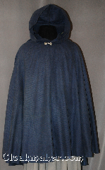 Cloak:2865, Cloak Style:Full Circle Short Cloak, Cloak Color:Slate Blue patterned, Fiber / Weave:Poly Nylon, Cloak Clasp:Alpine Knot - Silvertone, Hood Lining:Unlined, Back Length:36&quot;, Neck Length:18&quot;, Seasons:Spring, Fall, Note:Water beads off!<br>This cloak is practically weightless.<br>This water resistant cloak protects<br>while still allowing for movement<br>and easy storage, yet still is an<br>elegant addition to evening wear..