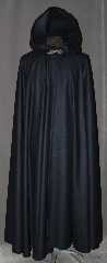 Cloak:2984, Cloak Style:Full Circle Cloak, Cloak Color:Navy Blue, Fiber / Weave:100% Wool, Cloak Clasp:Gothic Heart, Hood Lining:Unlined, Back Length:54&quot;, Neck Length:21&quot;, Seasons:Fall, Spring, Note:This lightweght navy blue 100% wool cloak<br>has a dramatic swoosh/drape perfect for<br>cool evenings. Smooth not scratchy for<br>those who love wool but a softer fabric.<br>Accented with a silver tone gothic heart<br>hook-and-eye clasp <br>Dry Clean only..