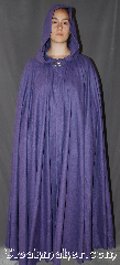 Cloak:3332, Cloak Style:Full Circle Cloak, Cloak Color:Purple heathered, Fiber / Weave:Wool Blend, Cloak Clasp:Vale, Hood Lining:Unlined, Back Length:58&quot;, Neck Length:22&quot;, Seasons:Fall, Spring, Note:For a dazzling addition to your wardrobe,<br>try this eye catching full circle cloak.<br>This fun and dramatic wool blend<br>purple heathered cloak is adorned with a<br>silver-tone Vale hook-and-eye clasp.<br>Dry Clean Only..