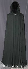 Cloak:3094, Cloak Style:Full Circle Cloak, Cloak Color:Forest Green, Fiber / Weave:Wool Blend, Cloak Clasp:Vale, Hood Lining:Unlined, Back Length:60&quot;, Neck Length:23&quot;, Seasons:Fall, Spring, Note:A perfect blend of simplicity and elegance,<br>this full circle cloak is made<br>of a wool blend fabric<br>With a pewter Vale hook-and-eye clasp.<br>Spot or dry clean only..