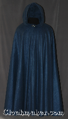 Cloak:3337, Cloak Style:Full Circle Cloak, Cloak Color:Steel Blue, Fiber / Weave:100% Polyester Economy Fleece, Cloak Clasp:Vale, Hood Lining:Unlined, Back Length:56.5&quot;, Neck Length:25.5&quot;, Seasons:Fall, Spring, Note:Easy care this full circle blue cloak is roomy<br>enough for full gear football players.<br>Made of midweight machine washable<br>economy fleece that provides a<br>lightweight warmth.<br>Suitable for&nbsp;late spring, &nbsp;early fall<br>or cool summer evenings.<br>You can even wrap up in it to watch TV..