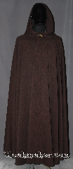 Cloak:3273, Cloak Style:Full Circle Cloak, Cloak Color:linen weave Brown, Fiber / Weave:100% Polyester weave, Cloak Clasp:Alpine Knot - Goldtone, Hood Lining:Unlined, Back Length:55&quot;, Neck Length:20&quot;, Seasons:Fall, Spring, Summer, Note:Made with a breathable<br>polyester linen texture<br>this light weight full circle cloak<br>is perfect for warmer locations<br>The rustic texture is perfect<br>for everyday wear, LARP or<br>Renaissance Fair. Machine Washable<br>with gold-tone alpine knot clasp..
