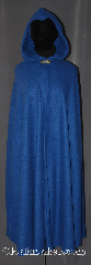 Cloak:3398, Cloak Style:Shaped Shoulder Cloak<br>Raven Teen Titans, Cloak Color:Persian Blue, Fiber / Weave:Fleece shearling<br>interior double sided, Cloak Clasp:Vale, Hood Lining:Fleece partial lined with widows peak, Back Length:46&quot;, Neck Length:18&quot;, Seasons:Southern Winter, Fall, Spring, Note:&quot;Azarath... Metrion... ZINTHOS!&quot;<br>Help fight evil in this easy care<br>shape shoulder fleece cloak.<br>Designed after Teen Titans Raven<br>with a widows peak hood<br>and tailored cut.<br>Perfect for conventions<br>or cool fall outings.<br>Machine Washable.<br>Contact us to custom order<br>Raven&#039;s belt and clasp..