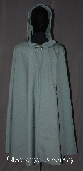Cloak:3560, Cloak Style:Full Circle Cloak, Cloak Color:Steel Blue / Grey, Fiber / Weave:Wool Blend Washable, Cloak Clasp:Vale, Hood Lining:Unlined, Back Length:43&quot;, Neck Length:25&quot;, Seasons:Fall, Spring, Note:A simple versatile steel blue<br>full circle cloak made of a<br>mid weight wool suiting<br>Machine washable..