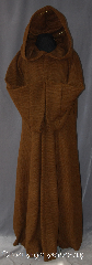 Robe:R352, Robe Style:Obi-Wan Jedi Robe, Robe Color:Caramel Brown, Fiber:Wool Melton, Neck:23.5&quot;, Sleeve:36&quot;<br>(full fold back cuffs), Chest:Up to 52&quot;, Length:71.5&quot;<br>Can be hemmed to height., Note:Modeled after Obi Wan this<br>caramel brown robe<br> has a rougher wool melton texture.<br>With classic fold over sleeves<br>and large hood.<br>Dry clean only..
