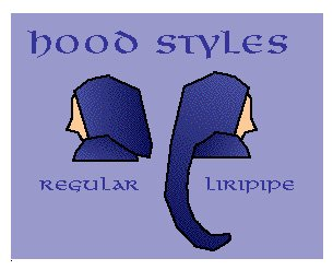 Hood styles diagram