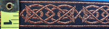 Trim: Celtic Fish Copper/Black