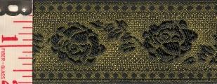 antique gold                           tapestry roses trim