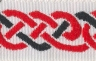 Celtic Knot on White
