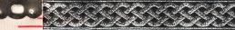 Trim: 3 Strand Celtic Braid, narrow (Silver/Black)
